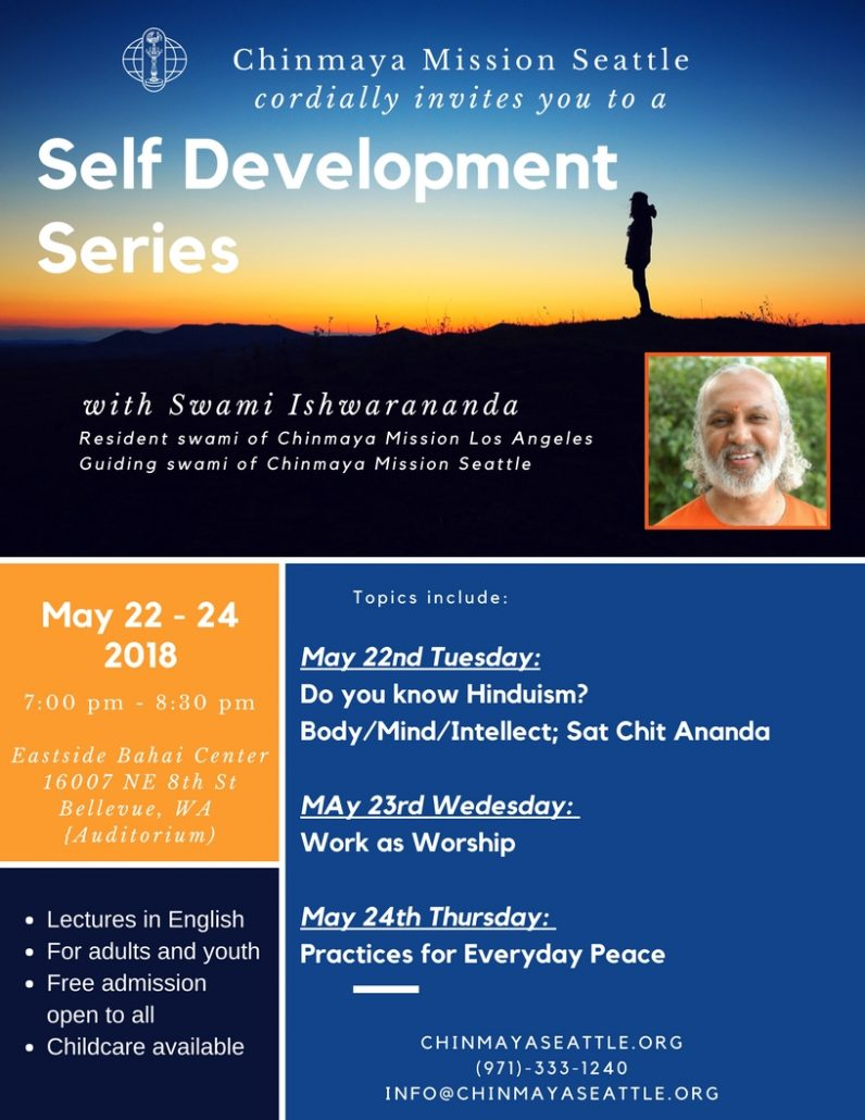 Self Development Series - Work as Worship @ East Bahai Center | Bellevue | Washington | United States