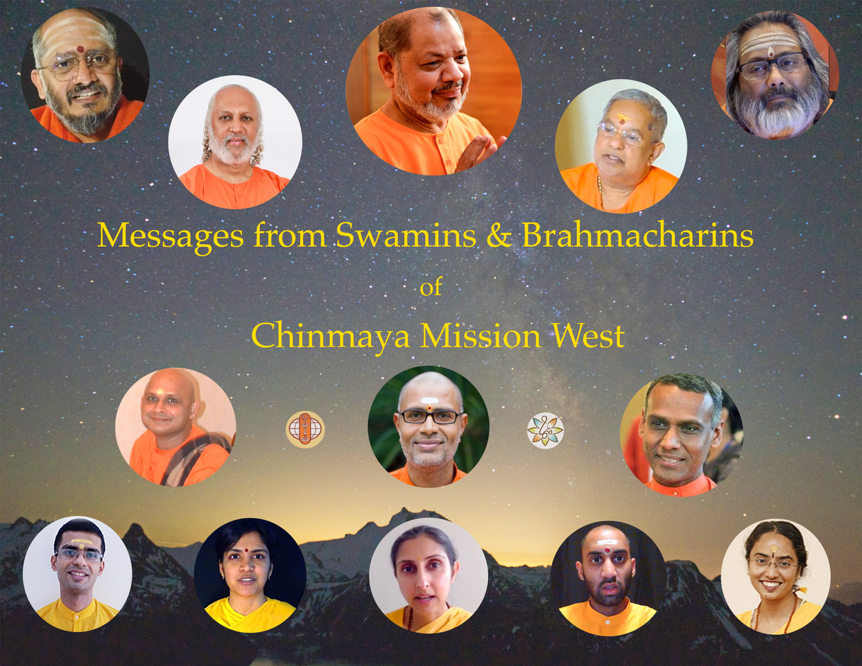 http://chinmayamissionwest.com/video-messages-from-swamins-and-brahamacharins/